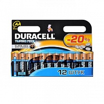Элемент питания LR6 Bl-12 Duracell Turbo Max